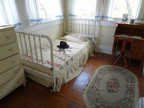 Hope, AR: Bill Clinton's bedroom