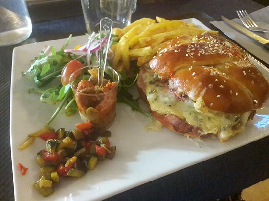 image gasoline wine&burger sur Montpellier