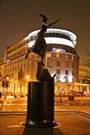 Cardiff Hilton at Night