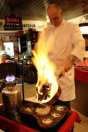 Grizzly : Flambe fillet