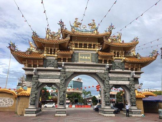 Butterworth, Malaysia: entrance door