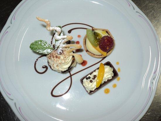 Fiesch in Valais, Switzerland: Dessertvariationen