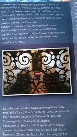 Soragna, Italy: dal dépliant del museo