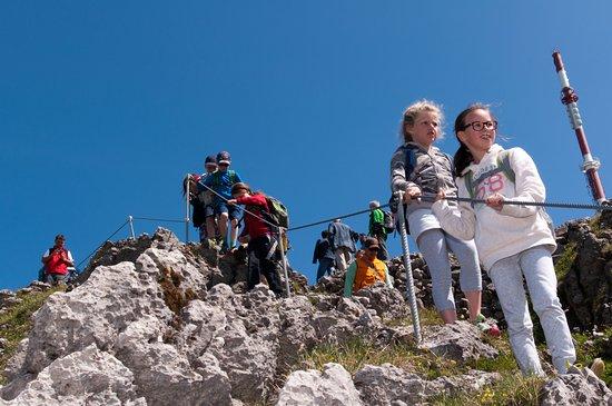 Klettersteig Kitzbüheler Horn : Klettersteig kitzbüheler horn st johann tourentipp