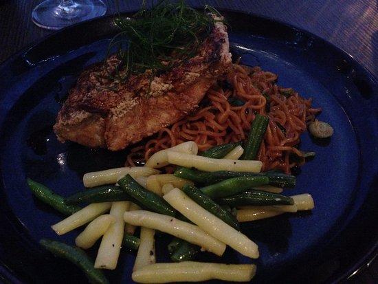 Innaloo, Australia: Crispy Five Spice Barramundi $28.00