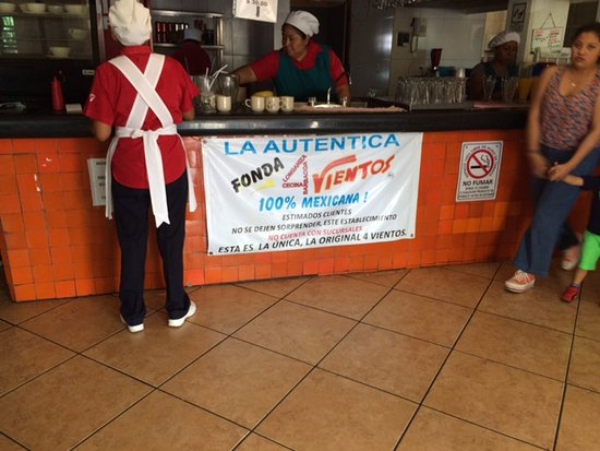 Alpuyeca, Mexico: Their sign as you walk inside.