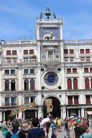 Photo of Monument / Landmark Torre dell'Orologio at Piazza San Marco, Venice, Italy