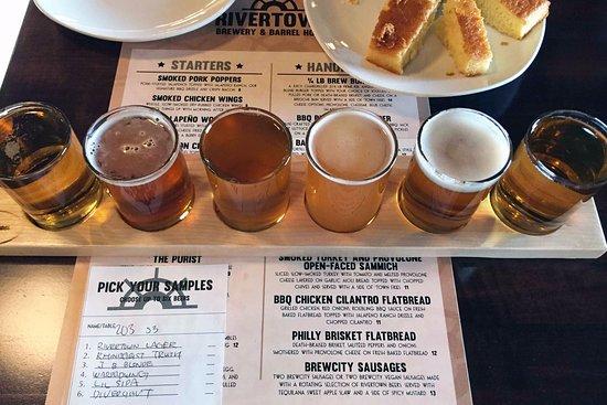 Monroe, OH: Craft beer sample