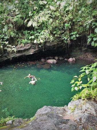 Saint Francois, Guadeloupe: Chutes du Carbet