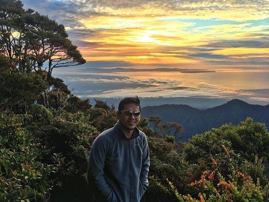 Mindanao, Filippinerne: Mt Talomo