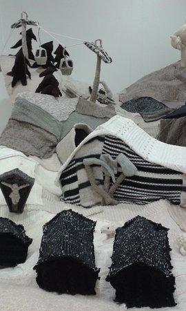 Alpinarium Galtür: Knitted scene