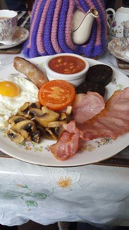 Alfriston, UK: Breakfast