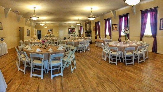 Lake Lure, NC: Roosevelt Hall Reception