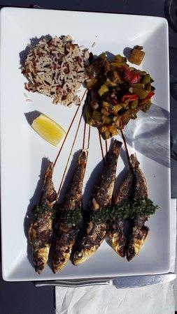 Carnon, Francia: sardines a la plancha