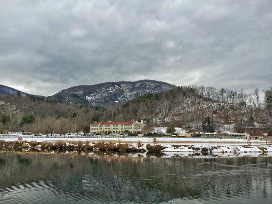 Lake Lure, Carolina del Nord: Winter Panorama