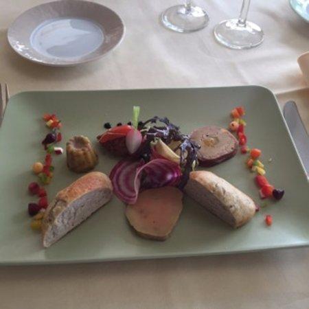 Fronsac, France: Trio de foie gras - entrée
