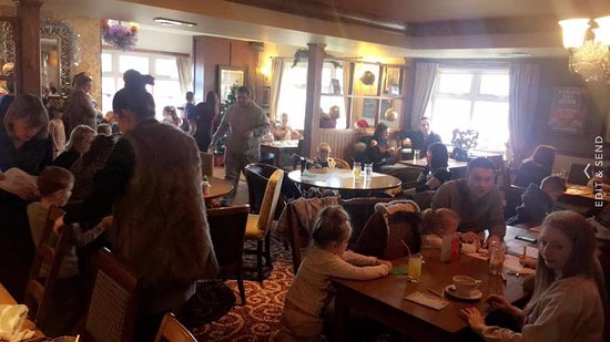 Bishop Auckland, UK: All aboard our polar express children's party