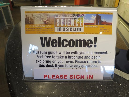 Los Alamos, NM: Welcome sign