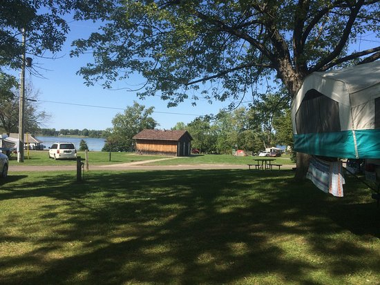 Ingleside, Canada: Woodland campground 101