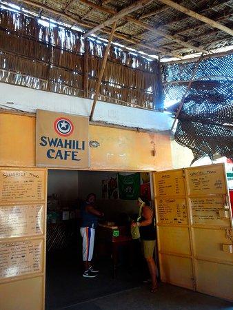 SWAHILI cafe: Il menù