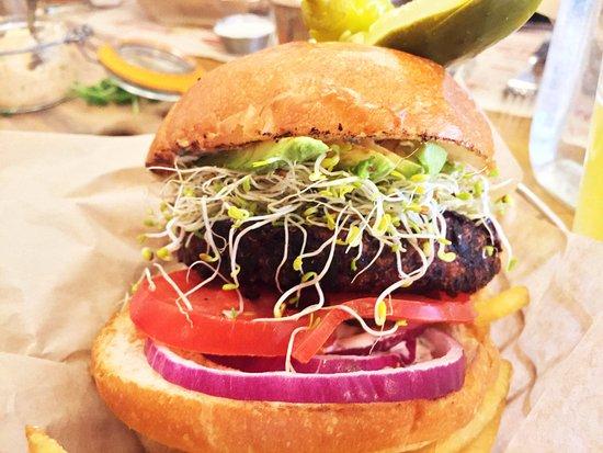 Teton Village, WY: Quinoa Burger