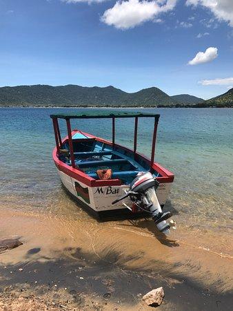 Cape Maclear, Malawi: Boat trip to Thumbi Island to snorkel