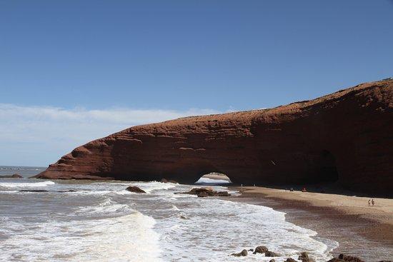 Пляж Легзира: _Легзира_главная арка (вид с южной стороны)