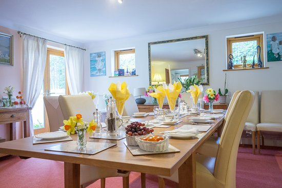 Cornworthy, UK: Breakfast Table