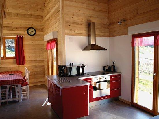 Espace cuisine , Chalet (2 à 6 pers) le Basivier - Photo de ...