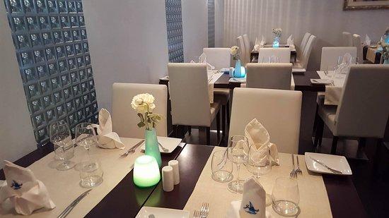 Restaurante Julius: indoor dinning room
