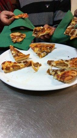 Castro Verde, Portugal: Pizza de túberas 🍕 🍴