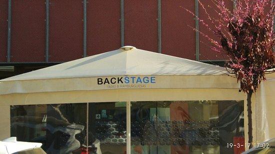 Palleja, Испания: Backstage