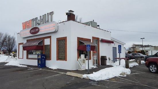 White Hut: Store Frontage