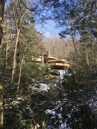 Fallingwater: The view of the house