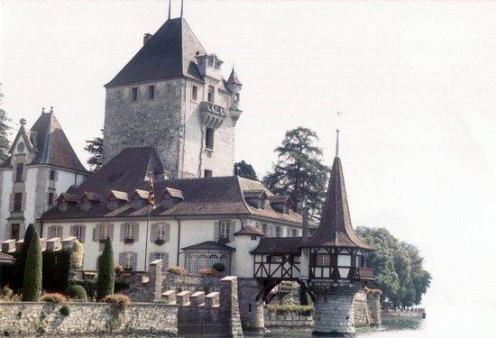 Oberhofen am Thunersee, Switzerland: Oberhofen Castle  © Robert Bovington