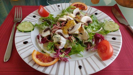 Pont en Royans, Frankreich: Salade d'automne