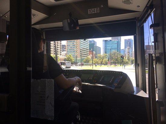 Glenelg Tram : Pretend to drive!