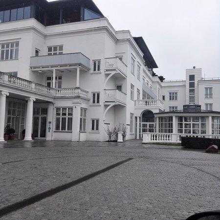 Skodsborg, Denmark: Så här såg det ut från utsidan