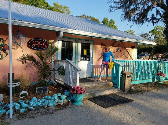 Steinhatchee, FL: Kathi's Krab Shack.