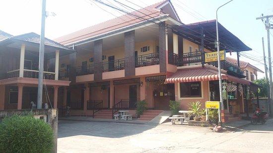 Chiang Khong, Thailand: Rim Nam guesthouse