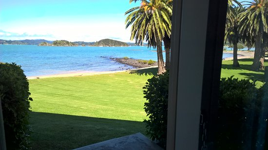 Waitangi, New Zealand: View from our room