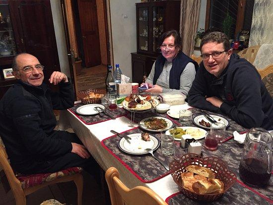 B&B Iris: Eten met de familie
