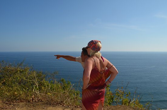 Cabuya, Κόστα Ρίκα: Pointing out the beautiful coast