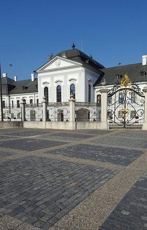 Grassalkovich Presidential Palace: Beautiful palace