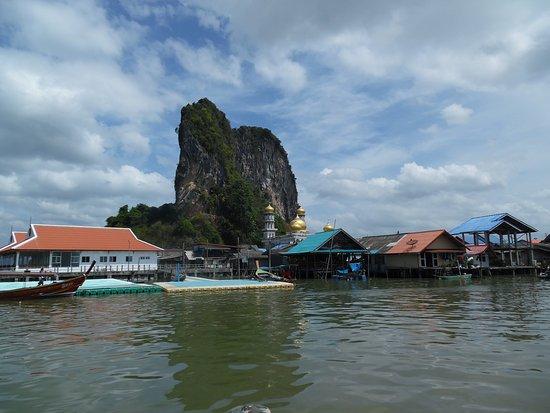 Koh Panyi (Floating Muslim Village): The landing pier