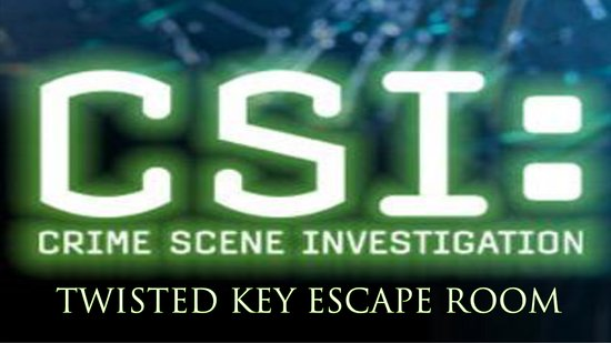 Burleson, TX: Come try our new CSI room.