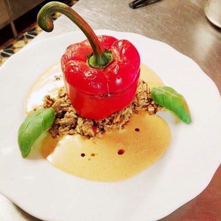 Saas-Grund, Zwitserland: Restaurant Bodmen