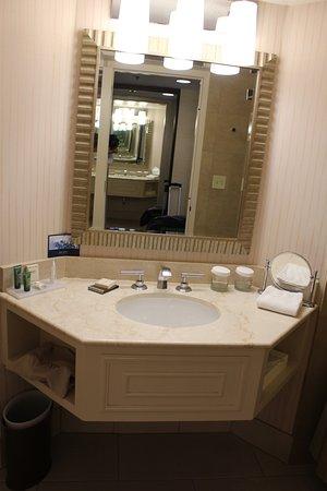 Hilton Parc 55 San Francisco: Badezimmer