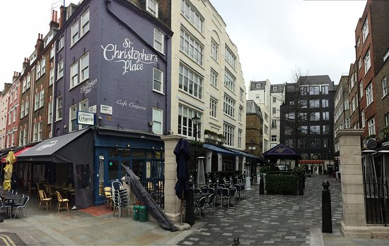 Photo of Tourist Attraction St. Christopher's Place at London, United Kingdom