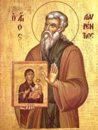 Salamina, Greece: Ο Όσιος Λαυρέντιος κτήτωρ της ιεράς μονής της << Φανερωμένης >>